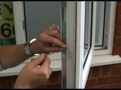 Bathroom Window Lock Broken maintenance of a double glazed pvc window - youtube