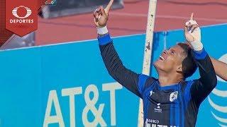 Gol de Ayron del Valle |  Lobos BUAP 0 - 1 Querétaro | Clausura 2019 - J 7 | Televisa Deportes
