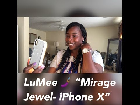 iPhone X : LuMee Duo Mirage Jewel case Unboxing.
