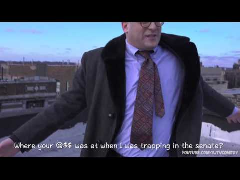 Jacob Berger as Rapping Bernie Sanders (Original on 8JTV Channel with over 200k Views!)
