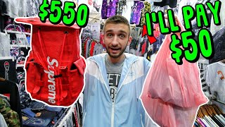 HONG KONG FAKE Market HYPEBEAST SHOPPING SPREE! WE PAID $3.20..