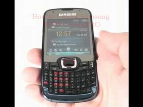 Samsung B7330 Omnia PRO Unlock Code - Free Instructions