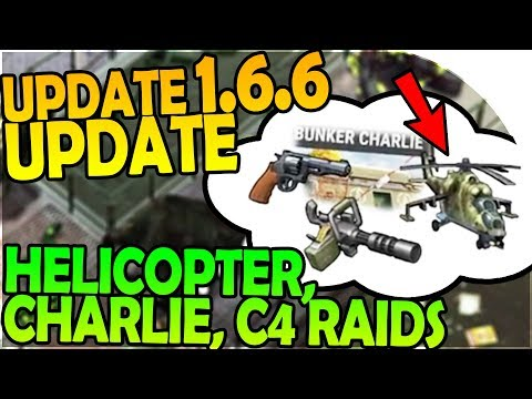 UPDATE 1.6.6 UPDATE + BUNKER CHARLIE + HELICOPTER INBOUND - Last Day On Earth Survival 1.6.5 Update
