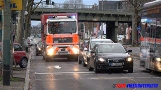 """[Lautsprecherdurchsage: """"Könnt ihr mal losfahren!""""] WLF BF BW20 + AB-Schlauch FF Frankfurt"""