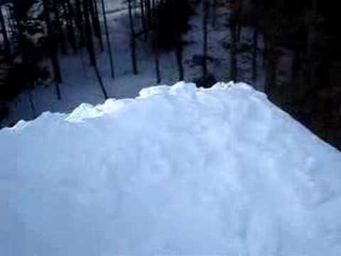 Snow in Ste-Adele