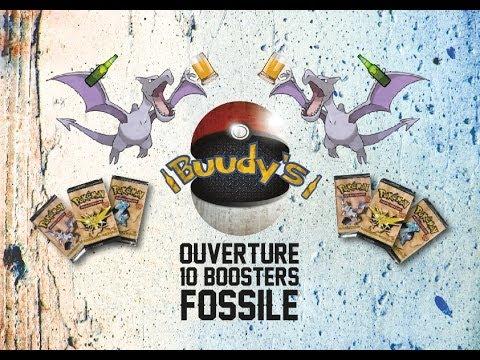 """Ouverture de 10 Boosters Pokémon FOSSILE ! ᚖ """"Vieux comme le monde"""" ᚖ + CONCOURS"""