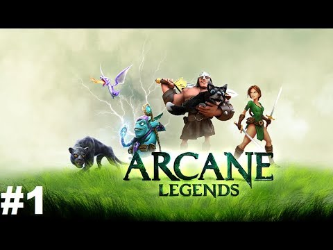 Arcane Legends MMO-Action RPG #1 Gameplay Прохождение Android/iOS Обзор начало игры за Воина