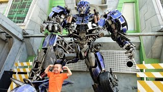 Transformers Elmo Minions Jurassic Park Theme Park Fun With Ckn Toys
