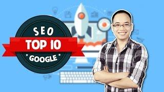 SEO Website lên Top 10 Google - Vương Mạnh Hoàng