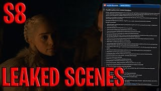 Season 8 Episodes 1-6 Leaked Scenes ! | Game of Thrones Season 8