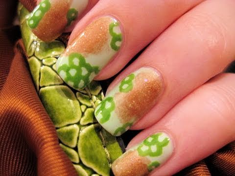 Lizard Nail Art - YouTube