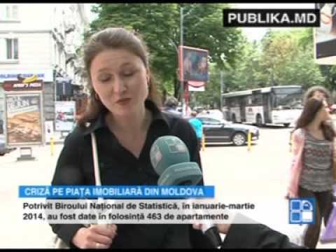 Criză pe piaţa imobiliară din Moldova. Ce spun economiştii
