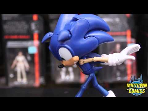 Sonic The Hedgehog 20th Anniversary 6-Inch Super Poser Action Figure Unboxing