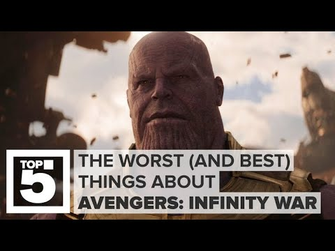 The worst (and best) stuff about Avengers: Infinity War (CNET Top 5)