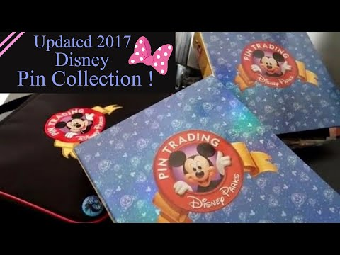 My Updated Disney Pin Collection 2017! Limited Editions, WDI, Mystery Boxes etc!