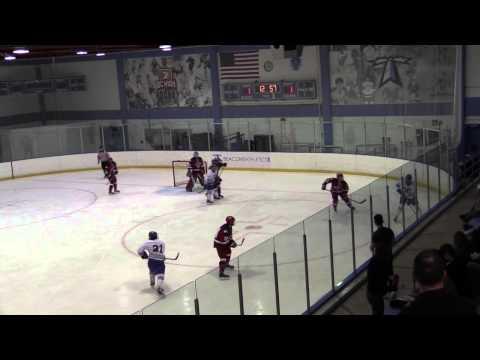 #11/12 UMass Boston Men's Hockey vs New England College (1/17/15) Highlights