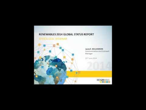 REN21 Renewables 2014 Global Status Report: Africa