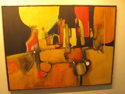 AWESOME 60's ABSTRACT ART FIND!  The CPMA, w/ DREW, American Pickers , Ebay , Abstract art