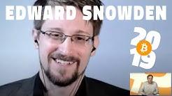 Bitcoin 2019: A Conversation with Edward Snowden
