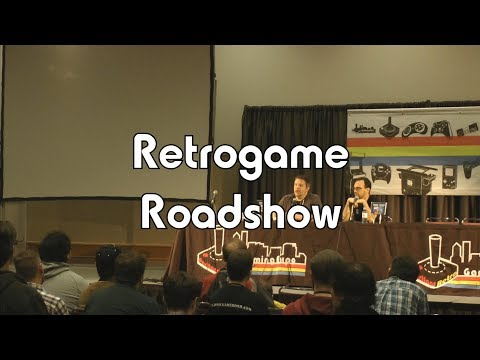 PRGE 2017 - Retrogame Roadshow - Portland Retro Gaming Expo 1080p