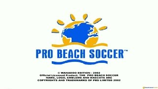 Pro Beach Soccer gameplay (PC Game, 2003)