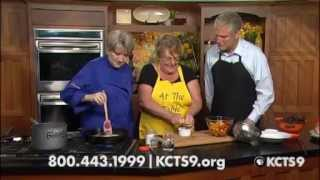 Sautéed Tomatoes In Curry Lemon Butter Sauce Over Couscous | Kcts 9 Cooks On The Side