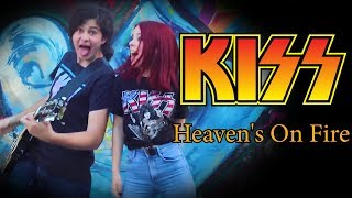 Heaven's on Fire - KISS; By Andreea Munteanu & Andrei Cerbu ( The Iron Cross )