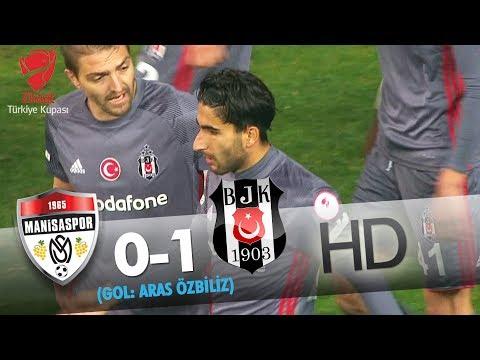 G.M. Manisaspor: 0 - Beşiktaş: 1 | Gol: Aras Özbiliz