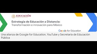 Acción Docente: Registro a Webinars Google for Education - Octubre 2020