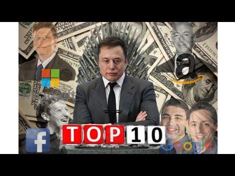 ТОП 10 | САМЫХ БОГАТЫХ ЛЮДЕЙ 2021 года  [Богатейшие люди мира]