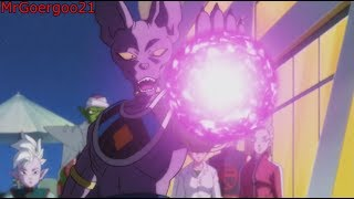 BEERUS FREAKS OUT AND THREATENS TO DESTROY KRILLIN!!! ENGLISH SUBS HD