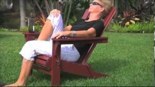 Wooden Adirondack Folding Chair.avi