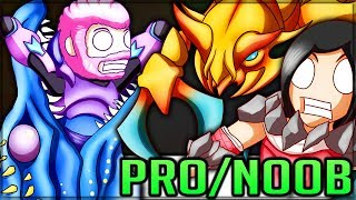 Monster of Pure Nightmare - Pro and Noob VS Dauntless! (New Monsters) #dauntless