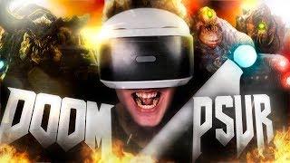NAJSTRASZNIEJSZA GRA W JAKĄ GRAŁEM! (Playstation VR   DOOM VFR   PSVR)