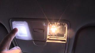 светодиодные лампочки освещения салона kia rio