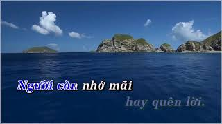 Dấu Tình Sầu (Tone Nam) - Karaoke HD || Beat Chuẩn