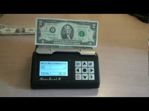 MS201 Money Counting Machine US Model