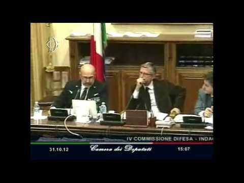 Audizione in Commissione Difesa dell'ammiraglio De Giorgi