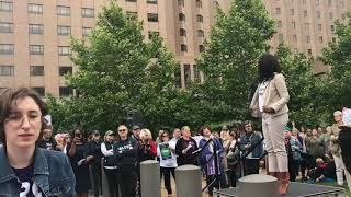 Abortion rights protest in downtown St. Louis