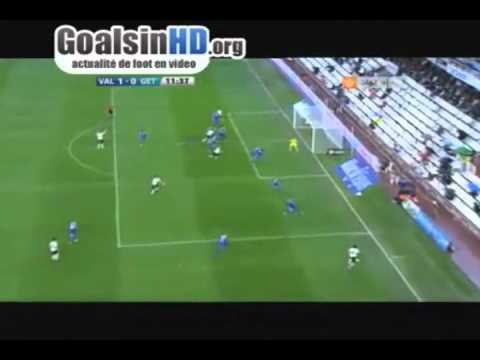 Doublé de Sofiane Feghouli contre Getafe (29-10-2011)