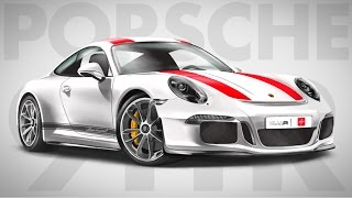 HOW TO DRAW a Porsche 911R - Step by Step | Realistic | drawingpat