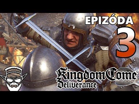 ŠÍP V PRDELI ! - Kingdom Come Deliverance / 1080p 60fps / CZ/SK Lets Play / # 3