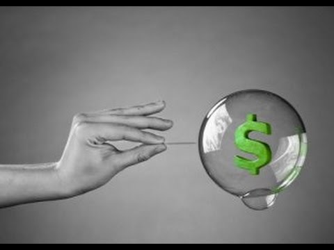 The Next Financial Bubble May Be About To Burst.