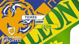 Tigres 2-0 León - RESUMEN Y GOLES - Apertura 2018 Liga MX Highlights