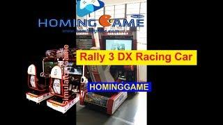 2019 HomigGame Hot Car racing game Rally 3 DX racing car game machine