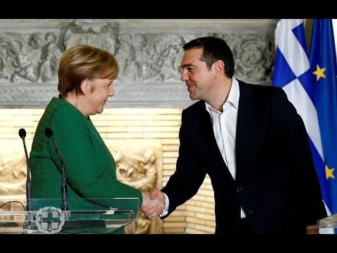 """Bürgerin zu Merkel-Besuch: """"EU-Politiker haben die griechische Gesellschaft kaputt gemacht"""""""