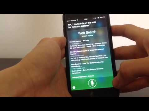 How Does Siri Works On An Iphone
