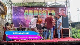 NEW ARDESTA - BERSABARLAH - Voc.Dinda triana feat Fitri Amelia // ARIN PRO AUDIO