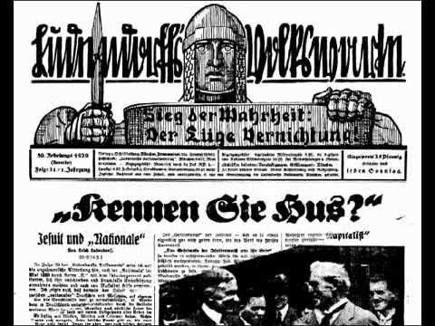 Ludendorffs Volkswarte, Jahrgang 1929, Erich Ludendorff,