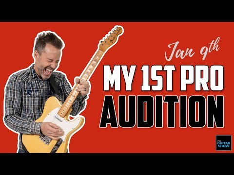 My First Pro Audition - (Live Lesson + Q&A)